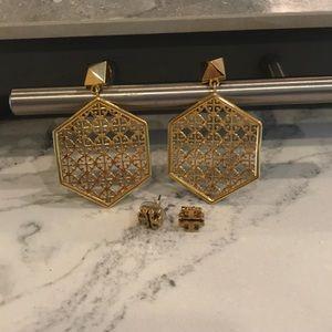 Tory Burch earring set
